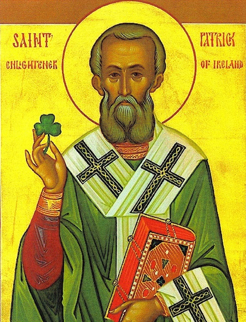 Saint Patrick and the Shamrock.
